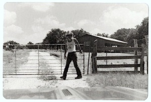 the author, Blanco TX 1980